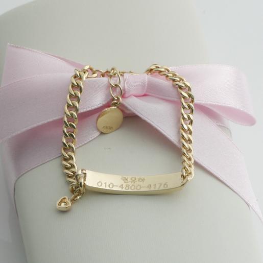 Tiffany Baby Bracelet Engraved Best Memorial Urn Necklace