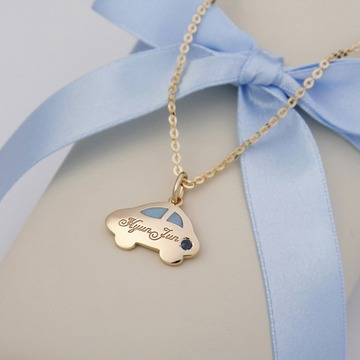 Baby Jewelry For Boys Gold 14k Yellow Gold Anddy Car
