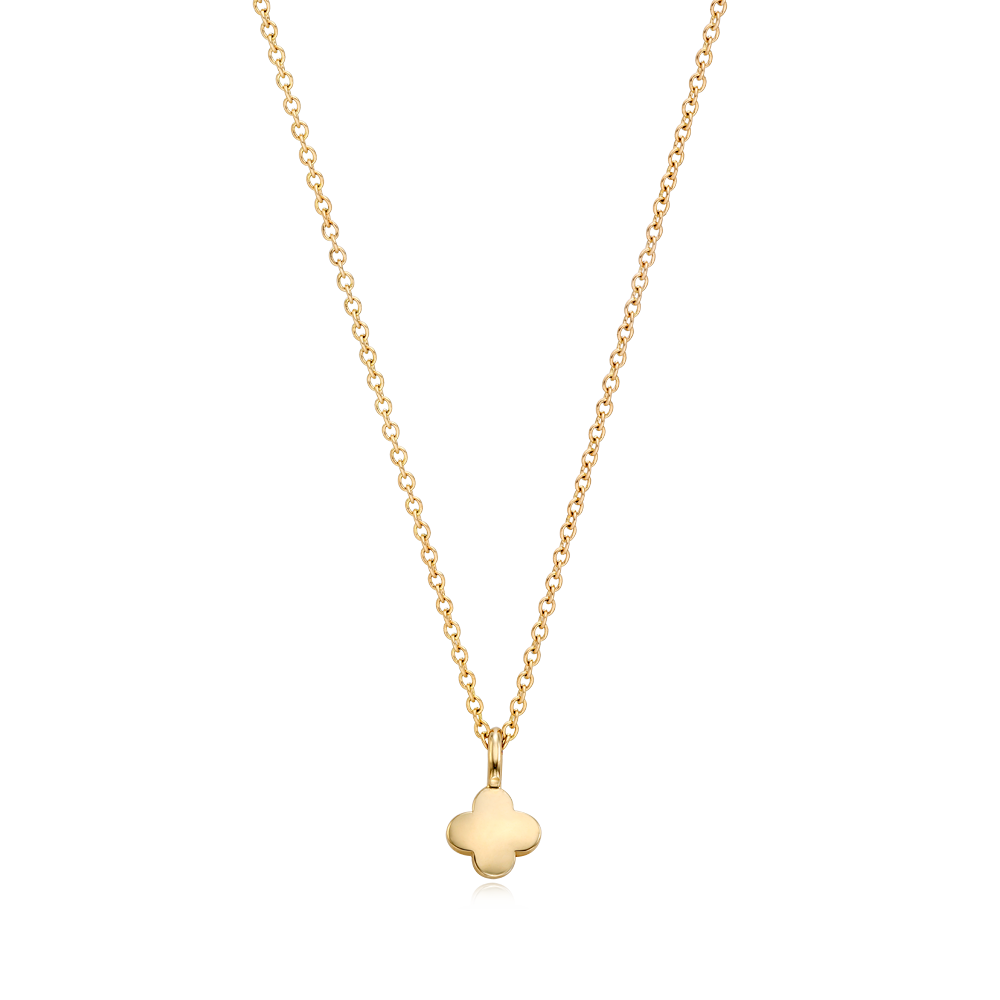 14K/18k Gold Kaiu Hope Necklace - Crover Necklace