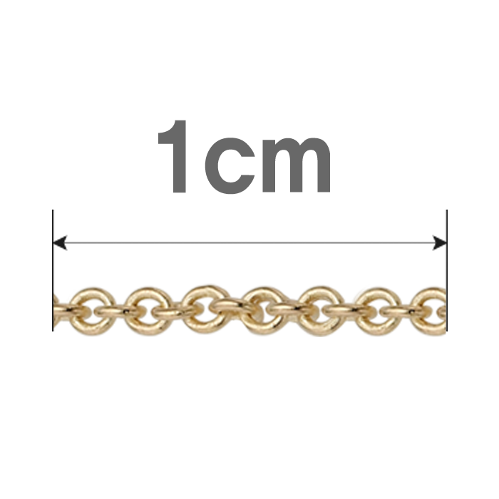14K /18K 0.3 additional 1cm  Cable Chain Increased Select as many as the length to add