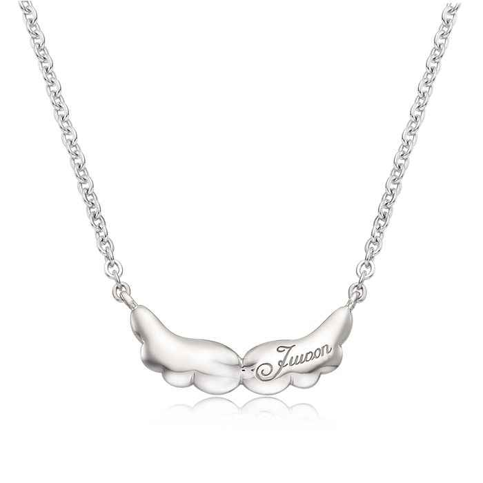 Baby Angel Silver Necklaces