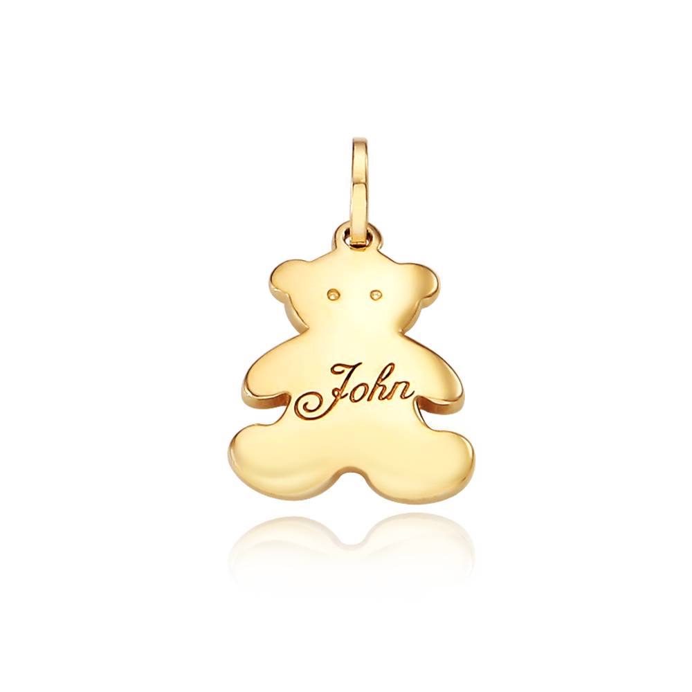14k/18k Gold Teddy Bear  Pendant