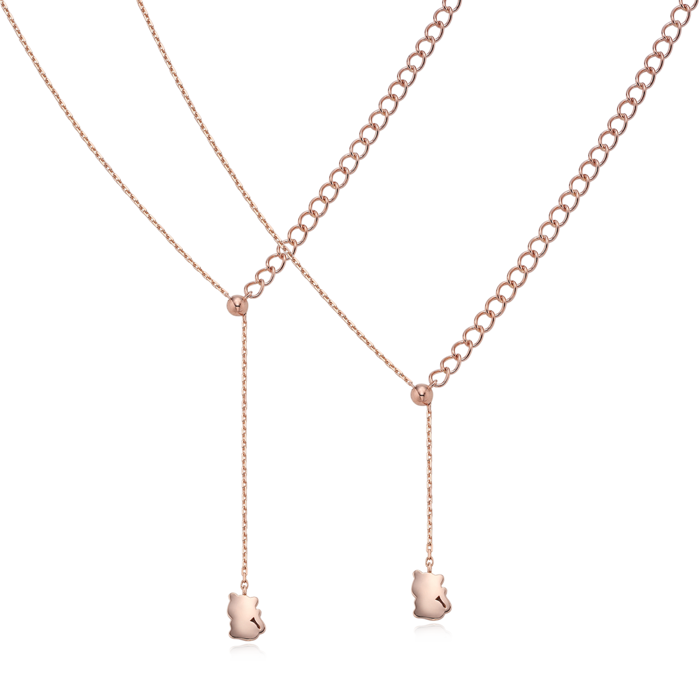 14K Rose Gold Elle Kaiu N3 Necklace No.3-Tiger