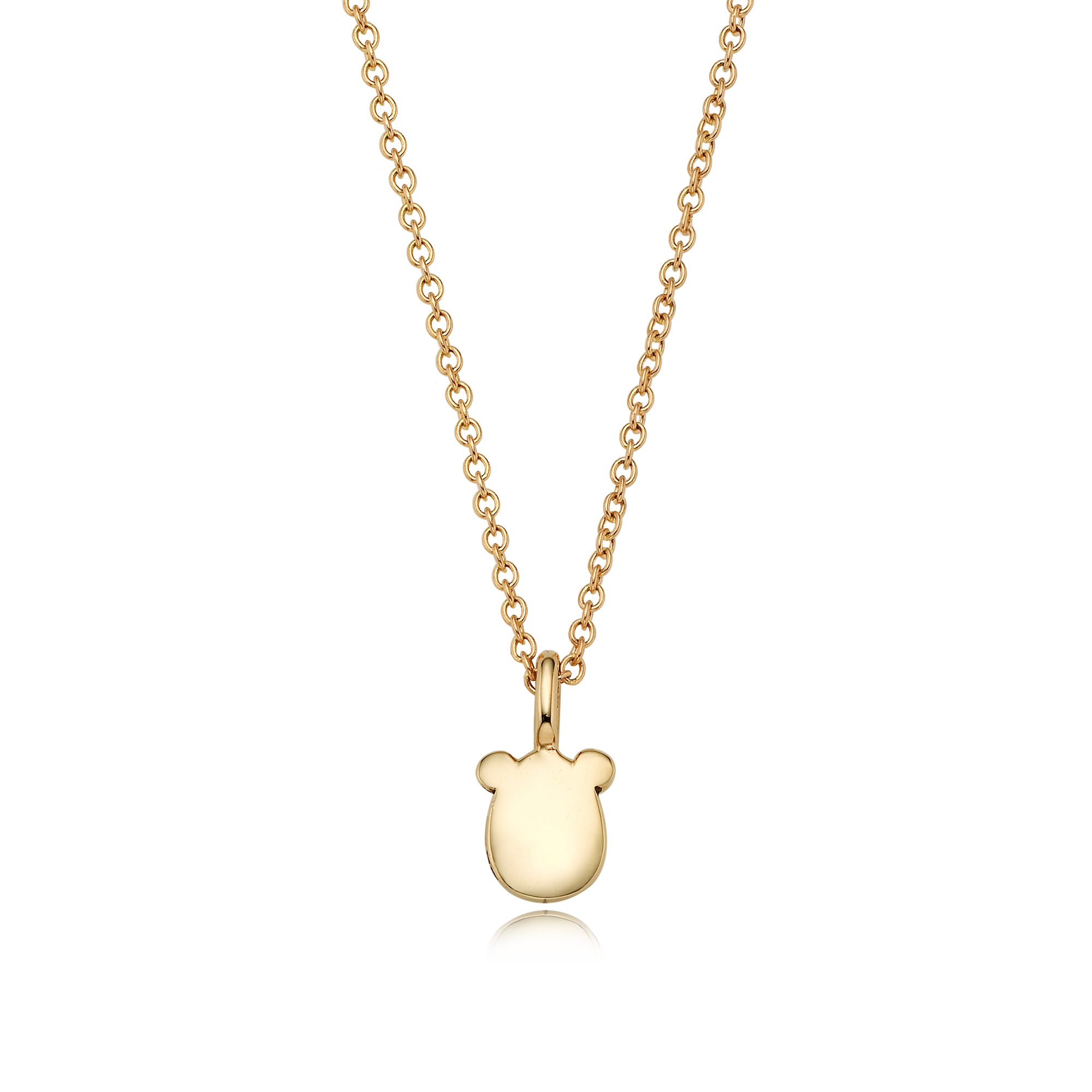 14K/18k Gold Mini Twelve Gangster Rat Necklace