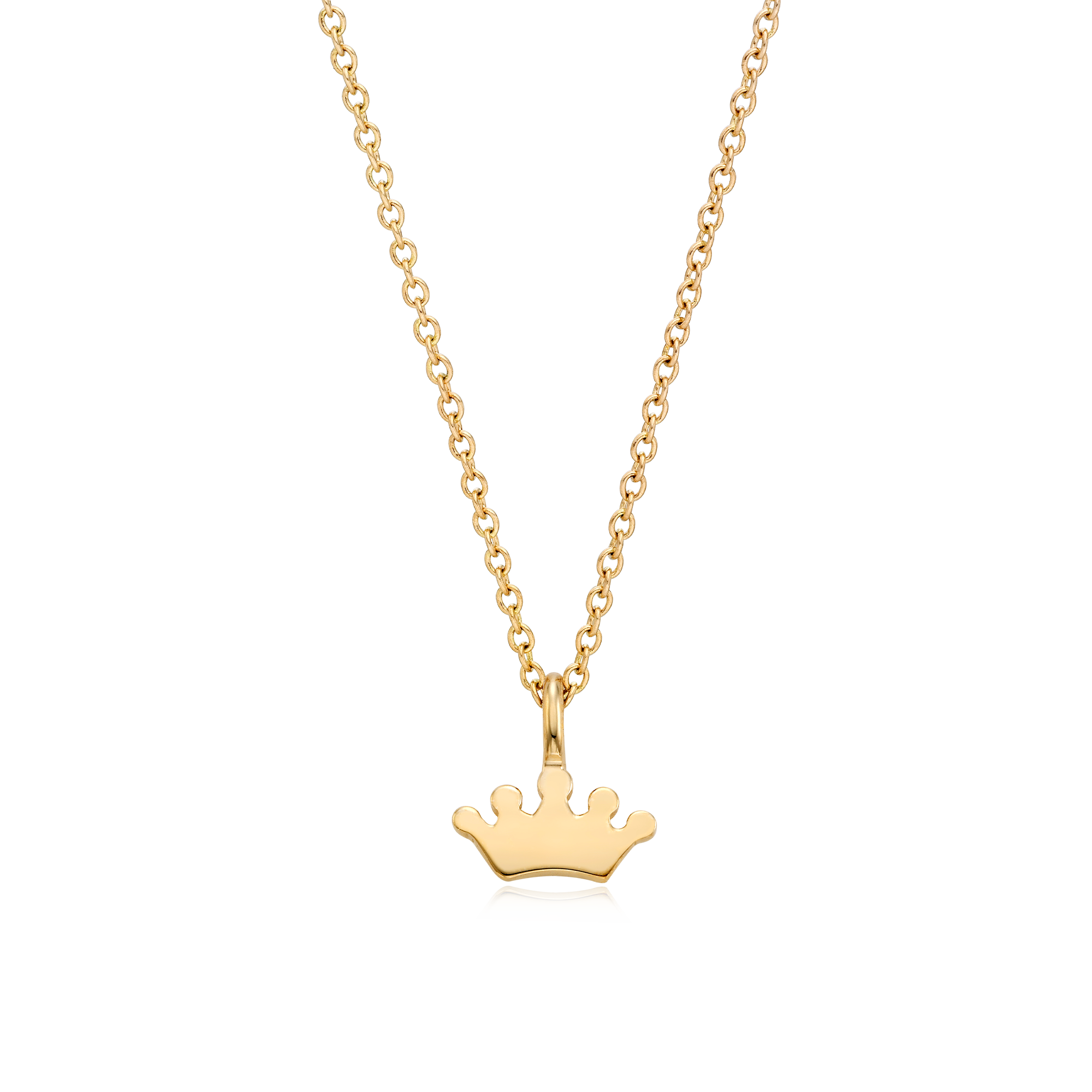 14K/18K Gold Kaiu Hope Necklace - Crown Necklace